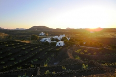 sunset over Amatista