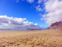 Famara Strand Lanzarote