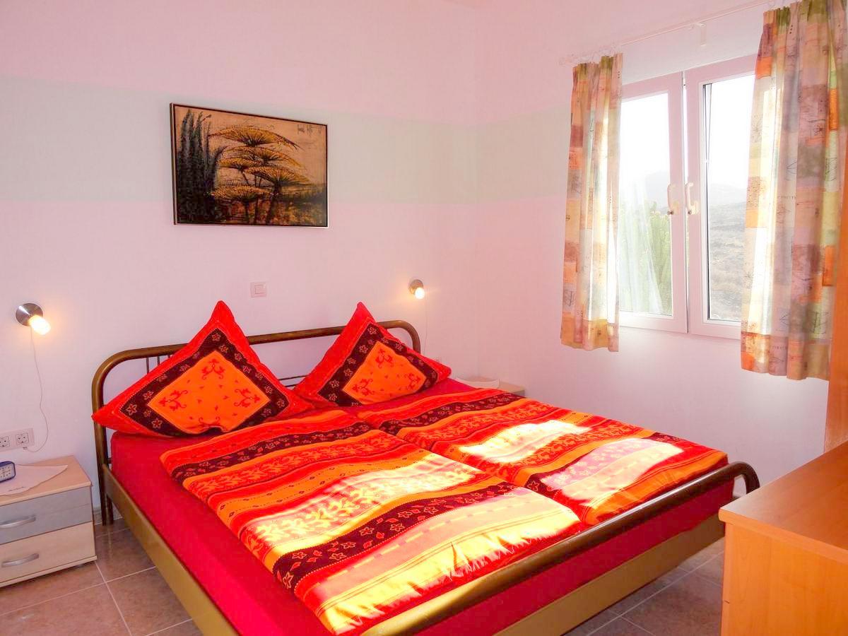 Schlafzimmer von Ferienwohnung Charco del Palo