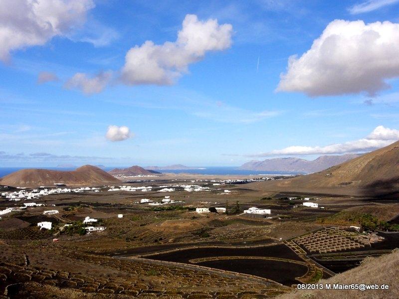 Landschaft bei La Vegueta
