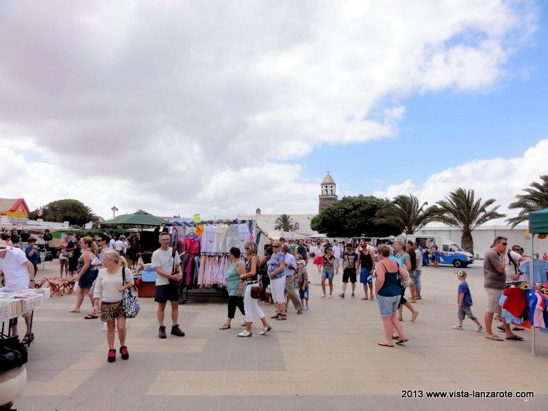 Teguise Markt am Sonntag - Märkte auf Lanzarote