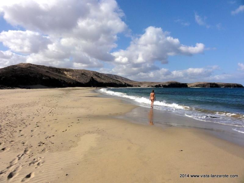 Die schönsten Strände auf Lanzarote Papagayo Strand