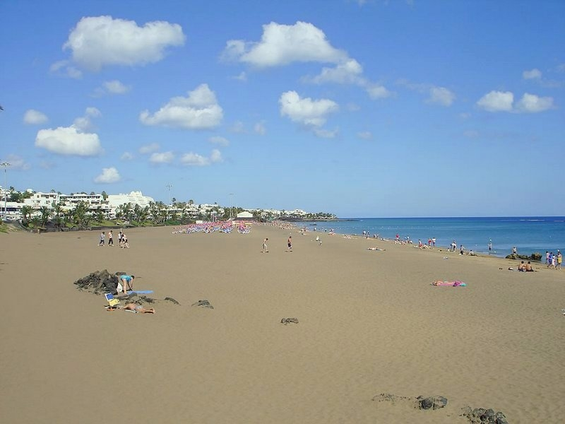 Playa Grande Strand in Puerto del Carmen