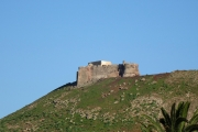 Castillo Santa Barbara von Teguise aus