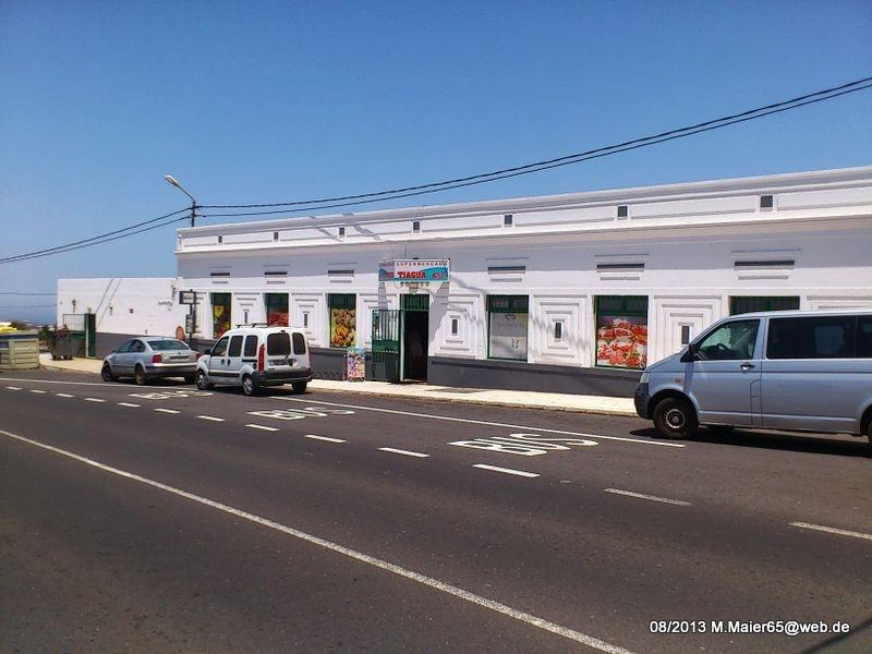 Supermarkt in Tiagua