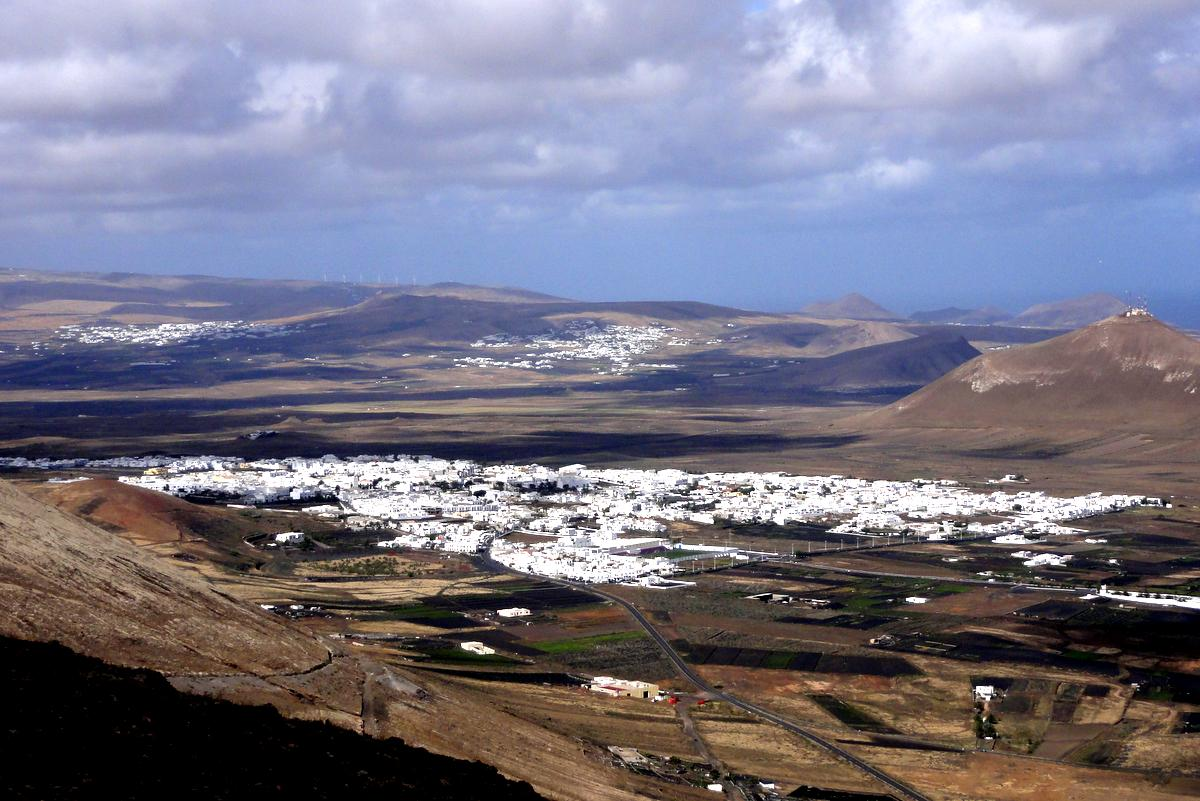 Wanderung Lanzarote Montaña Blanca
