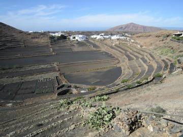 Aussicht Kraterhaus Tinajo