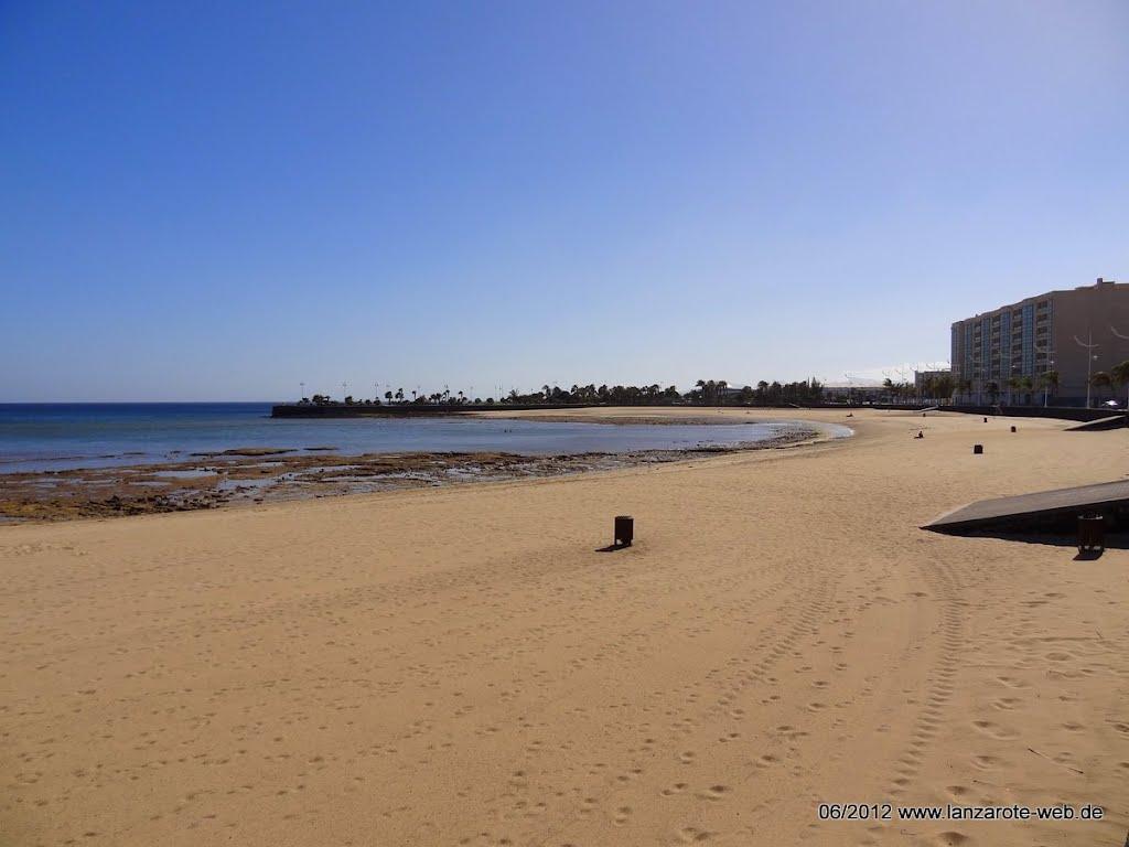 Playa El Reducto Arrecife