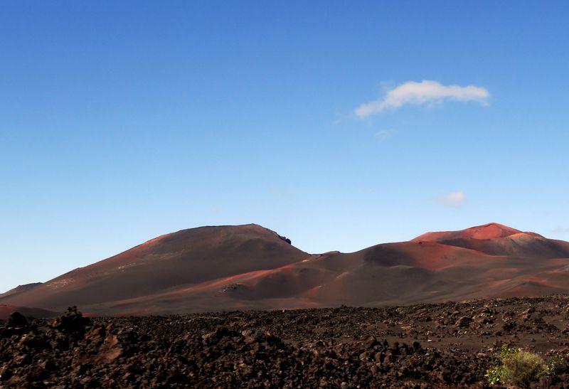 Parque Nacional de Timanfaya - Feuerberge