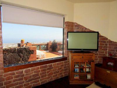 Wohnzimmer von Luxusvilla in La Asomada