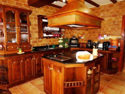 Küche von Luxusvilla in La Asomada