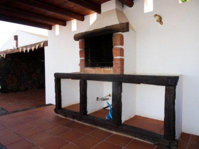 Aussengrill von Luxusvilla in La Asomada