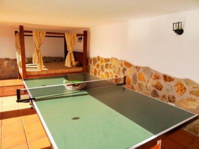 Tischtennisraum von Luxusvilla in La Asomada