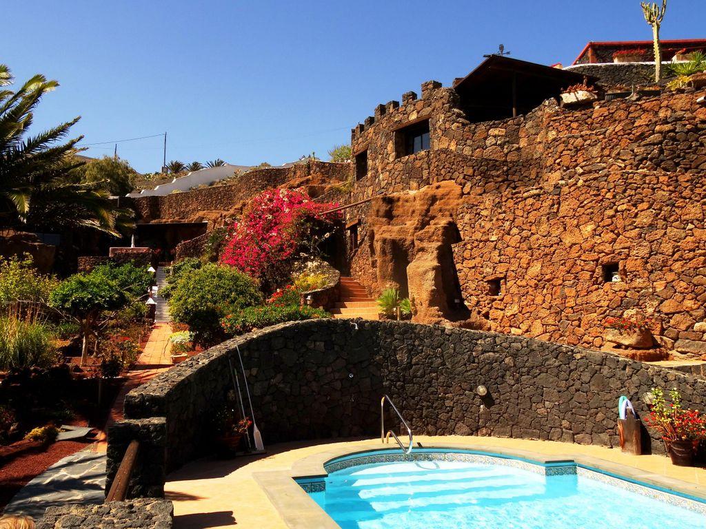 Aussenansicht Castillo Lanzarote II