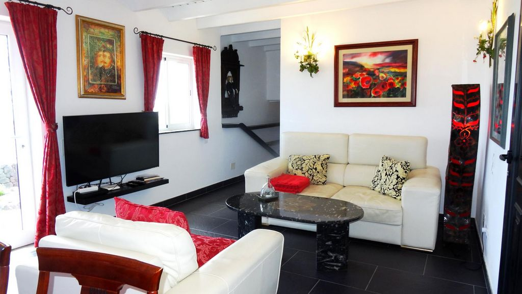 Wohnzimmer von Castillo Lanzarote 4